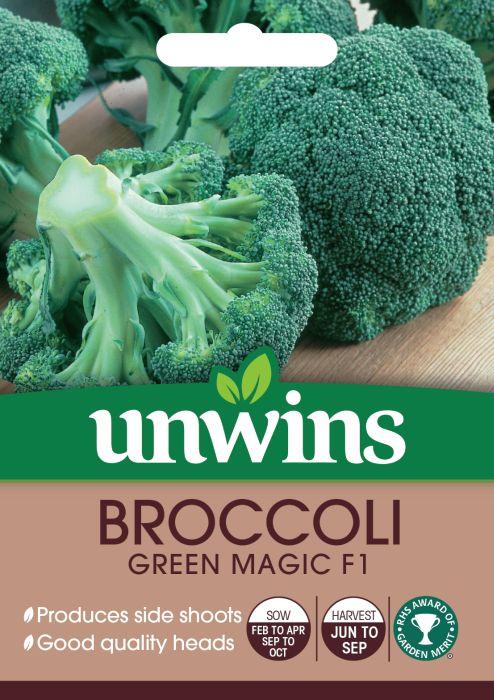 Picture of Unwins Broccoli Green Magic F1