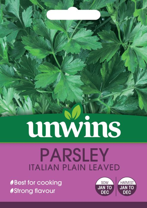 Picture of Unwins Herb Parsley Italian Plain Leaved