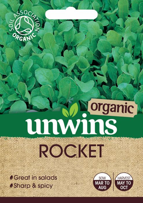 Picture of Unwins Herb Rocket Org Organic