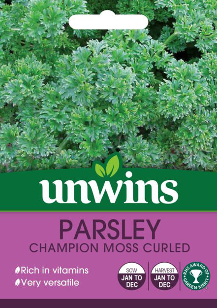 Picture of Unwins Herb Parsley Champion Moss Curled