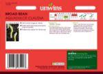 Picture of Unwins Broad Bean Aquadulce Claudia