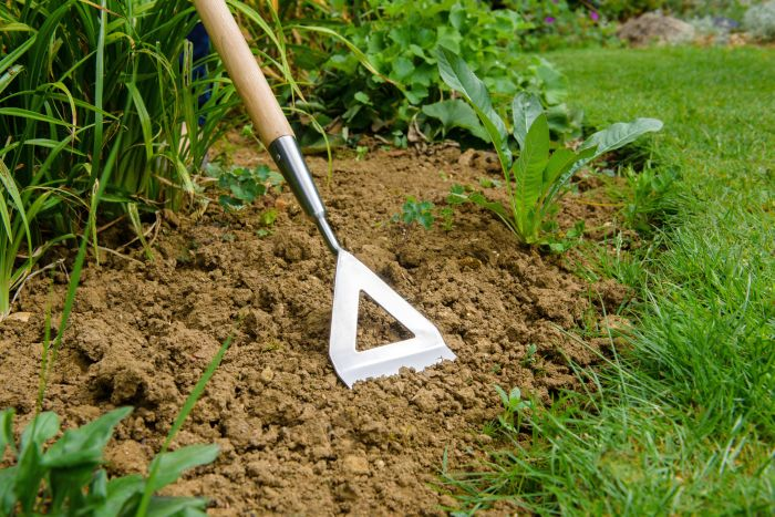Picture of Garden Life Stainless Steel Dutch Hoe