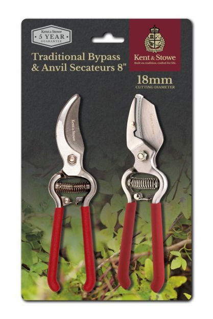 Picture of Traditional Secateurs Twinpack