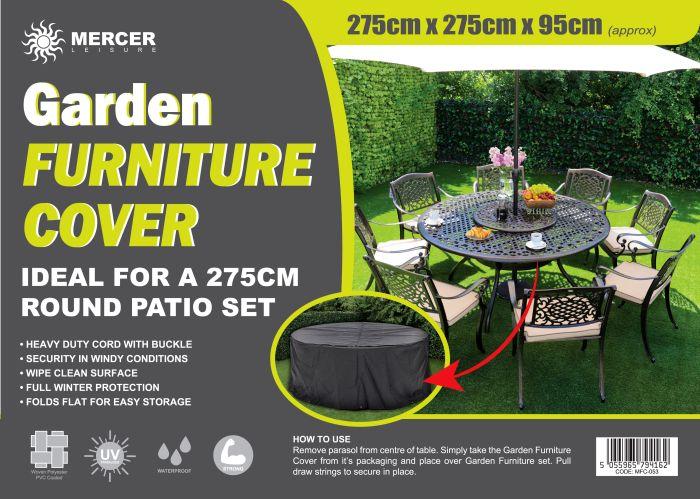 Picture of Garden Furniture Cover Round Set 275cm Diameter