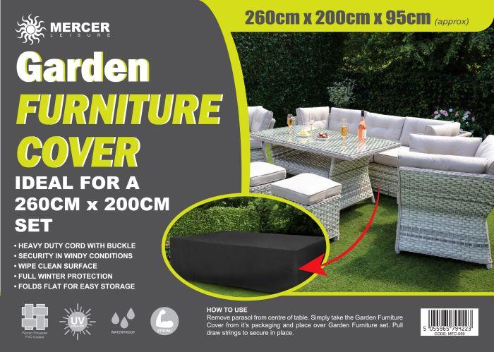 Picture of Garden Furniture Cover Rectangular Set 260cm X 200cm