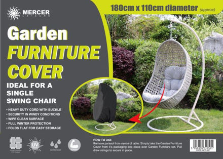 Picture of Garden Furniture Cover - Single Swing Egg Chair