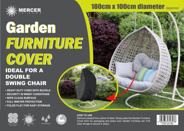 Picture of Garden Furniture Cover - Double Swing Egg Chair