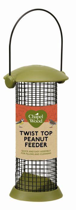 Picture of Twist Top Peanut Feeder 20cm