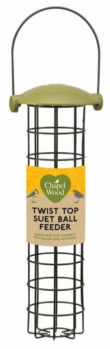 Picture of Twist Top Suet Ball Feeder 30cm
