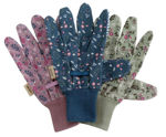 Picture of Cotton Grips - Flower Field Triple Pack Med/8