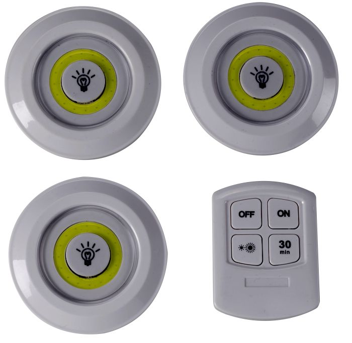 Picture of Remote Control Glo-Discs Triple Pack 90 Lumens