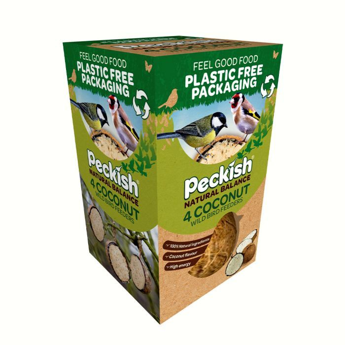 Picture of 60051265 4PK NATURAL BALANCE COCONUT FEEDER