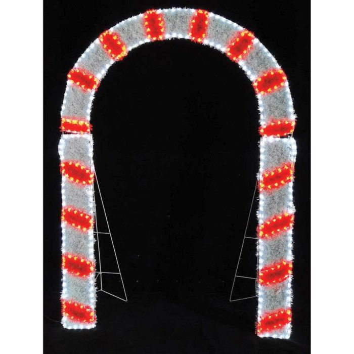 Picture of LED Candy Cane Arch Rope - 200cm x 150cm