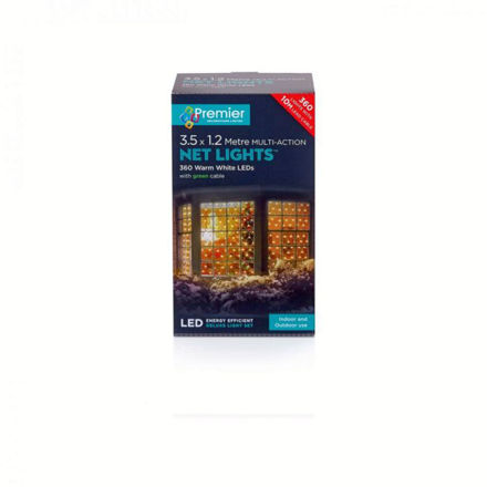 Picture of 360 LED Multi-Action Net Lights Warm White - 3.5m x 1.2m
