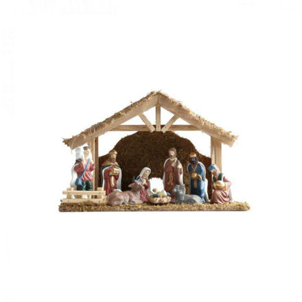 Picture of Nativity Set - 9pce
