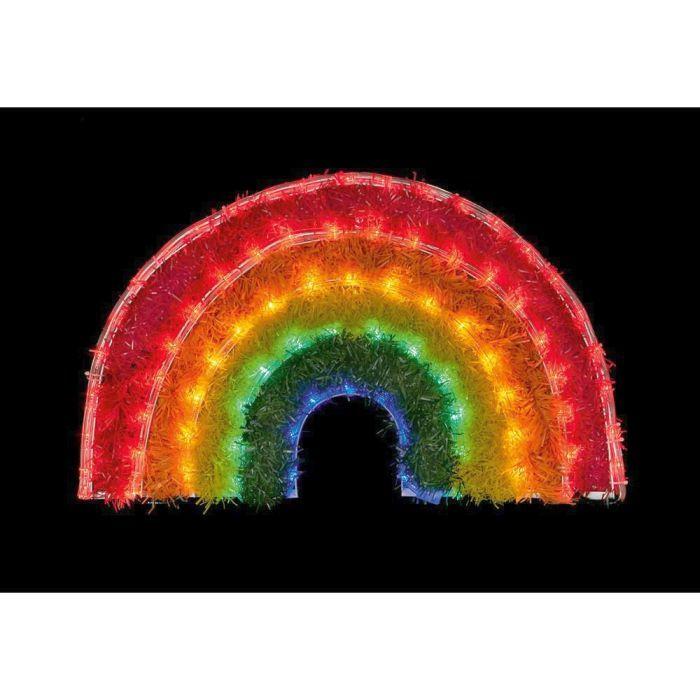 Picture of Rainbow Tinsel Rope Light - 57cm x 34cm