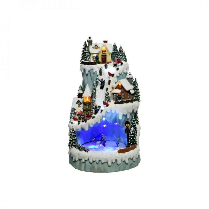 Picture of LED Winter Village Mountain Scene -  43cm