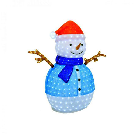 Picture of LED Acrylic Snowman - 133cm