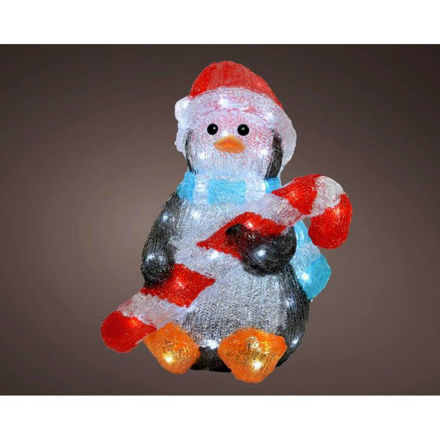 Picture of LED Acrylic Penguin - 41cm