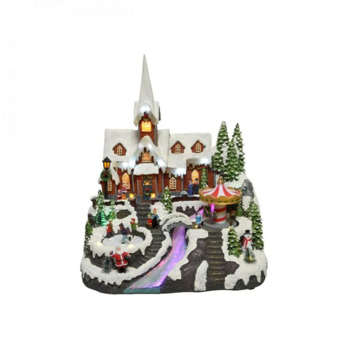 Picture of LED Winter Church Scene - 37.5cm