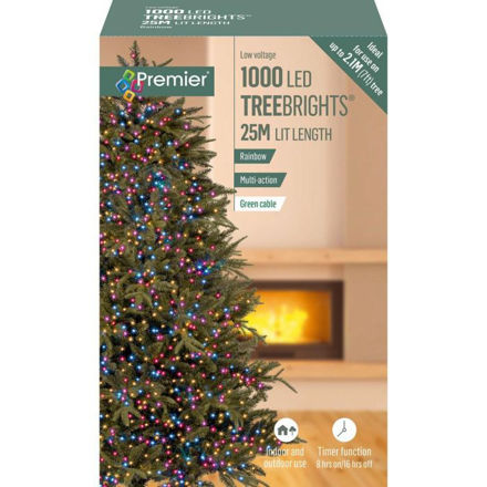 Picture of 1000 LED Multi-Action Treebrights Timer - Rainbow