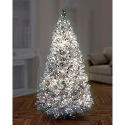 Picture of 1000 LED Multi-Action Treebrights - White with Clear Cable